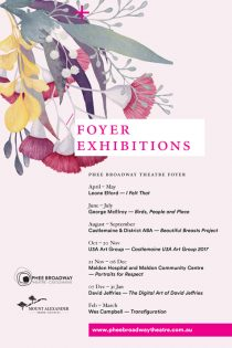 Foyer Exhibitions 2017