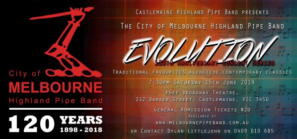 EVOLUTION CONCERT – 15 June 2019